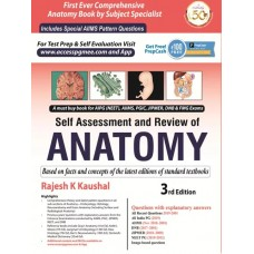 Self Assessment & Review of Anatomy 3rd Edition 2019 By Rajesh K .Kaushal