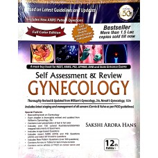 Self-Assessment & Review Gynecology 12th edition 2019 Sakshi Arora Hans