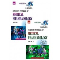 A Complete Textbook of Medical Pharmacology - Vol. I and II; 2nd Edition 2017 By SK Srivastava