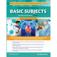 Self Assessment & Review Of Basic Subjects Physiology & Biochemistry 6th Edition 2019 Volume 1 By Arvind Arora