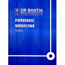 Forensic Medicine Bhatia Notes 2019-20