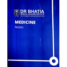 Medicine Bhatia Notes 2019-20