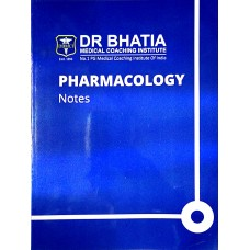 Pharmacology Bhatia Notes 2019-20