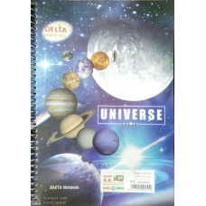 DELTA UNIVERSE A4 NOTEBOOK-268 PAGE