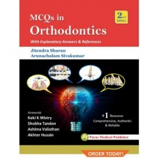 MCQs In Orthodontics With Explanatory Answers And References 2nd Edition 2017 By Jitendra Sharan