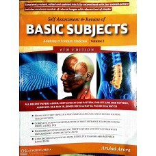 Self Assessment & Review Of Basic Subjects Anatomy & Forensic Medicine Vol 2, 2019 By Arvind Arora