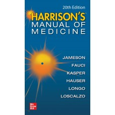 Harrison's Manual Of Medicine 20th Edition 2020 By Dennis L KasperAnthony S Fauci