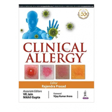 Clinical Allergy;1st Edition 2020 By Rajendra Prasad