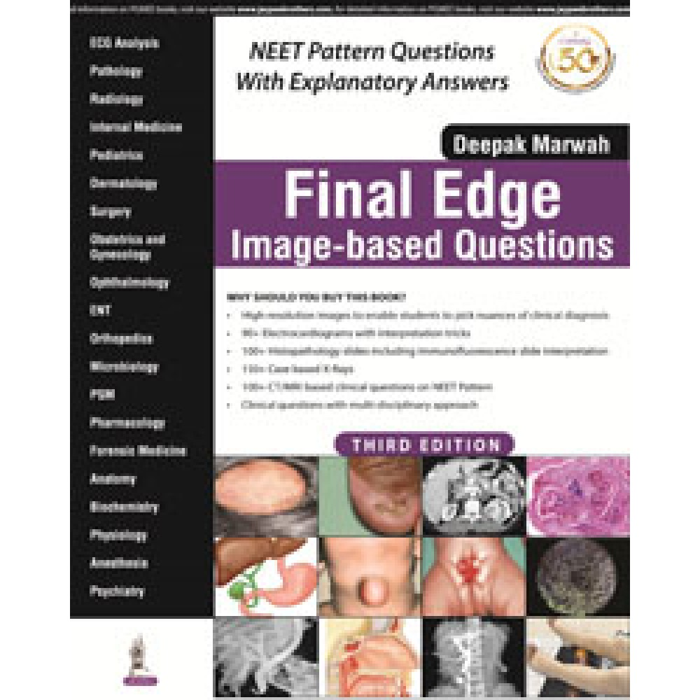 Final Edge Image-based Questions; 3rd Edition 2019 By Deepak Marwah