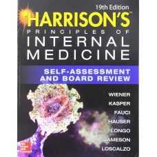 HARRISON'S PRINCIPLES OF INTERNAL MEDICINE: SELF-ASSESSMENT AND BOARD REVIEW 19Th EDITION BY WIENER