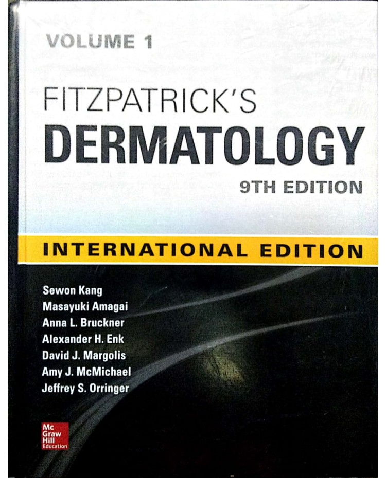 "Fitzpatrick""s Dermatology volume 1,2 By Sewon Kang Amy J.McMichael 9th Edition 2019 International Edition"