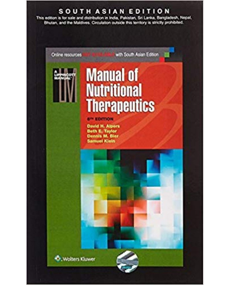 Manual of Nutritional Therapeutics 6th Edition 2016 By Alpers Klein