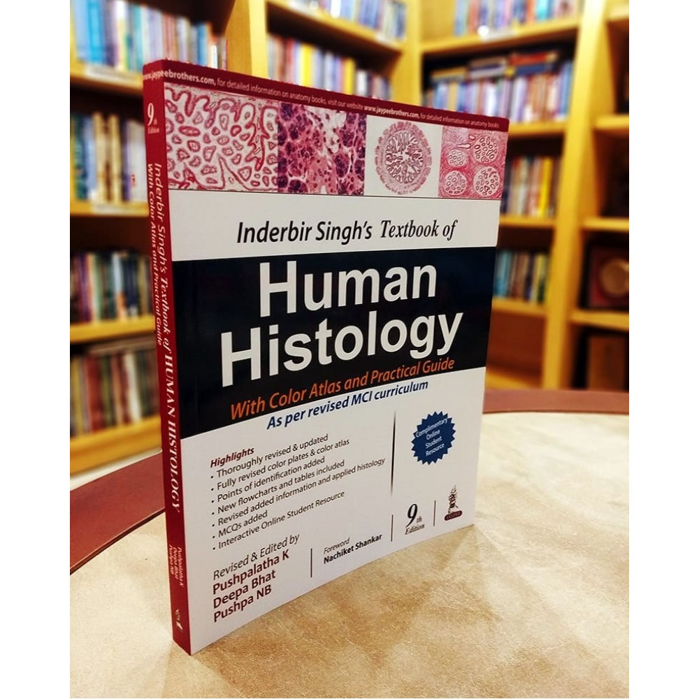 Inderbir Singh'S Textbook Of Human Histology 20th Edition 20120 By ...