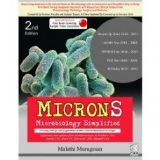 MICRONS-Microbiology Simplified 2nd Edition 2018 By Malathi Murugesan