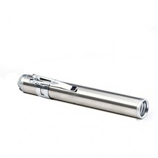 Round Moon Shaped Light Aluminium Alloy Torch With Convex CREE Led (Moon Torch with Shirt Clip)
