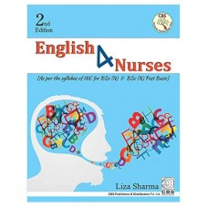 English 4 Nurses For BSc (N) And BSc (N) Post Basic; 2nd Edition 2019 By Liza Sharma