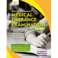 REVIEW OF POSTGRADUATE MEDICAL ENTRANCE EXAMINATION 14 EDITION VOLUME 1, 2019 BY ARVIND Amit Ashish