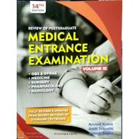 REVIEW OF POSTGRADUATE MEDICAL ENTRANCE EXAMINATION VOLUME-3 (14TH EDITION 2019) BY ARVIND ARVIND Amit Ashish