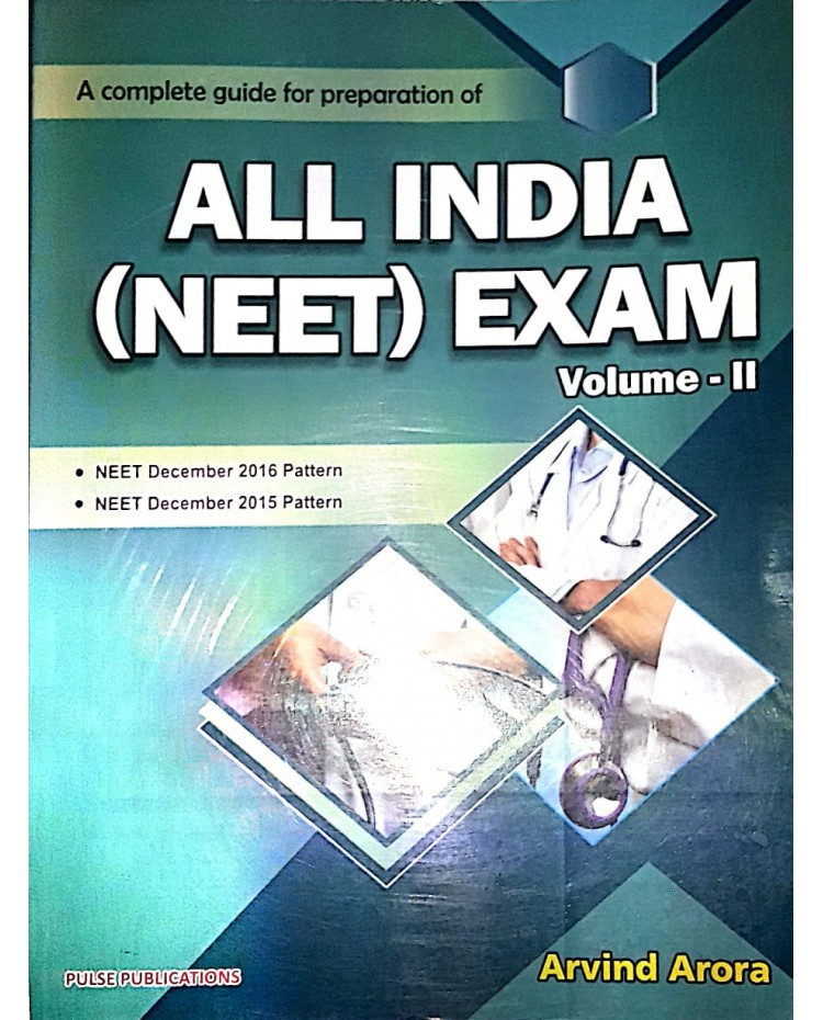 All India Neet Exam Volume 2 2019 by Arvind Arora