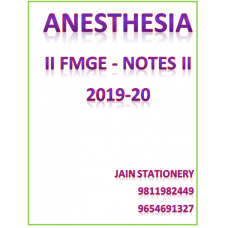 Anaesthesia AFMG-Hand Written Notes 2019-20