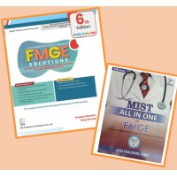 Combo Pack Of FMGE Solutions for MCI Screening Examination With MIST All In One For FMGE