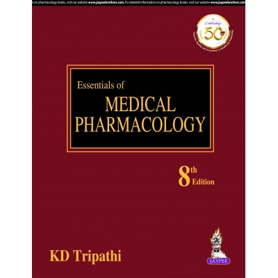 Essentials of Medical Pharmacology-8th Edition