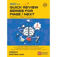 MBK's Quick Review Series for FMGE/NEXT;3rd Edition 2020 By Dr. P.Harinath  Dr.Seyed Abdul Cader