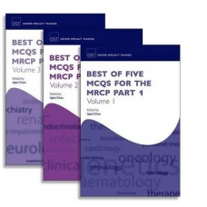 Best of Five MCQs for the MRCP Part 1 Pack (Oxford Specialty Training: Revision Texts):1st Edition 2017 By Iqbal Khan