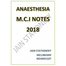 Anaesthesia (DIAMS-Hand Written Notes) 2018
