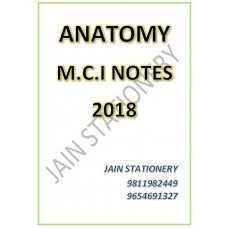 Anatomy (DIAMS-MCI Hand Written Notes) 2018