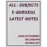 All subjects E-Gurukul PG Hand Written Notes (Colored)2020-21