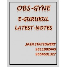 Obstetrics & Gynecology E-Gurukul PG Hand Written Notes (Colored)2020-21 By Dr Ramyasree