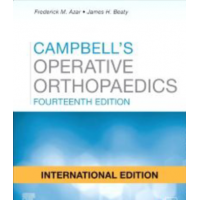 Campbell's Operative Orthopaedics (4 Volume Set);14th International Edition 2020 By Frederick M Azar