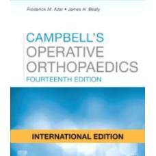 Campbell's Operative Orthopaedics (4 Volume Set);14th International Edition 2020 By Frederick M Azar
