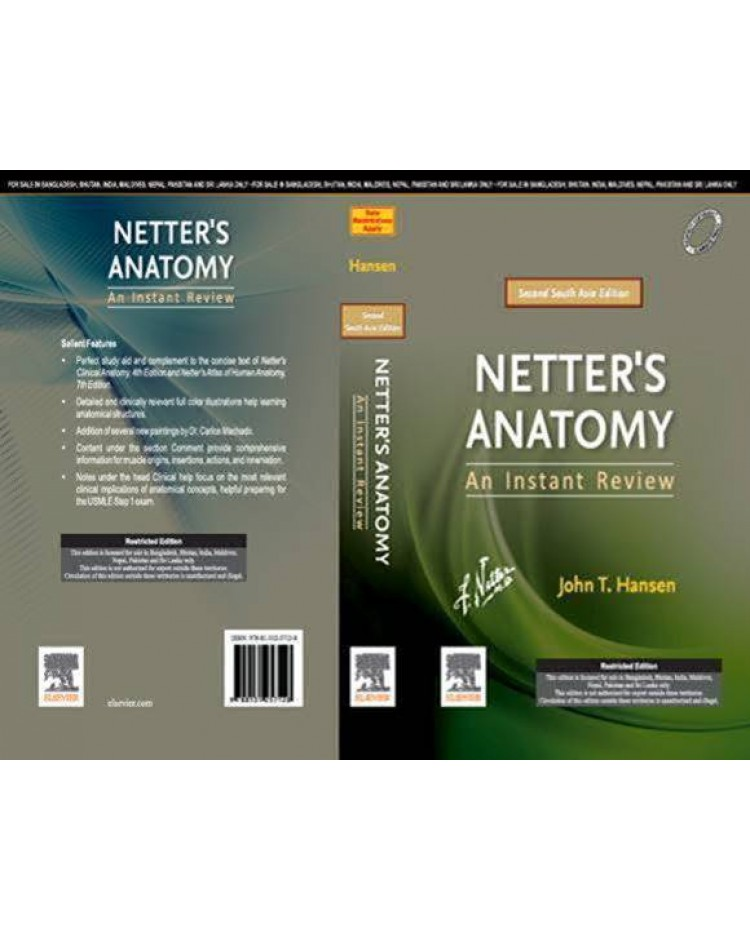 Netter's Anatomy: An Instant Review, Second South Asia Edition