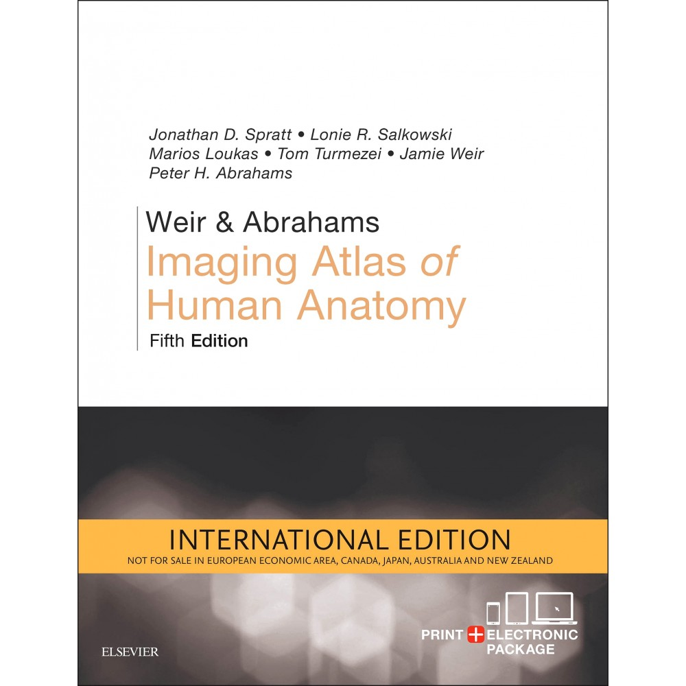 Weir Abrahams Imaging Atlas Of Human Anatomy International