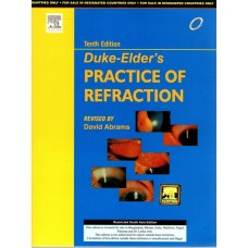 Duke-Elder's Practice of Refraction, 10th Edition 1993  By  David Abrams