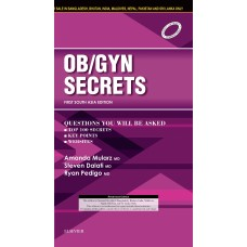 Obstetrics & Gynecology Secrets;1st (South Asia Edition) 2017 By Mularz