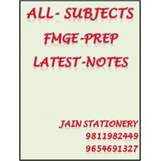 ALL SUBJECTS FMGE OF PREP COLOUR PRINTED NOTES 2020-21