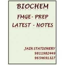 Biochemistry Fmge-Prep Printed Notes 2020-21