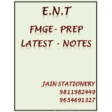 Ent Fmge-Prep Printed Notes 2020-21