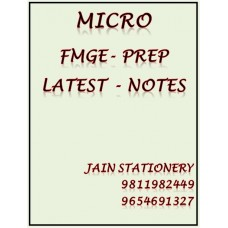 Microbiology Fmge-Prep Colour Printed Notes 2020-21