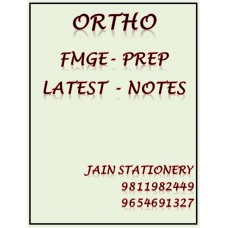 Orthopaedics Fmge-Prep Printed Notes 2020-21