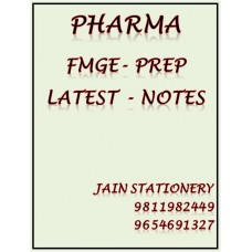 Pharmacology Fmge-Prep Colour Printed Notes 2020-21