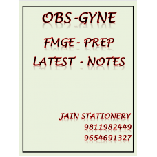 Obstetrics & Gynecology Fmge-Prep Colour Printed Notes 2020-21