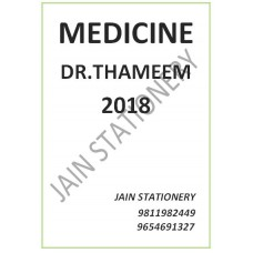 Medicine - Thameem Notes 2018