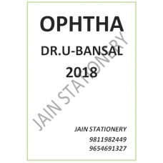 Ophthalmology Pg Notes 2018 By Utsav Bansal