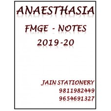 Anaesthesia Mist Fmge Notes 2019-20