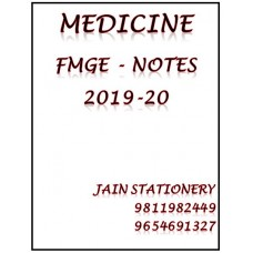 Medicine Mist For Fmge Hand Written Notes 2019-20