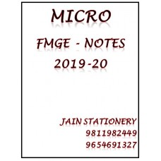 Microbiology Mist Fmge Notes 2019-20